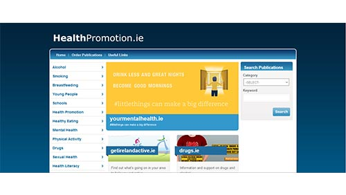 mental health promotion in ireland National youth council of ireland national youth health programme  mental health publications  hosted the specialist certificate in youth health promotion in .